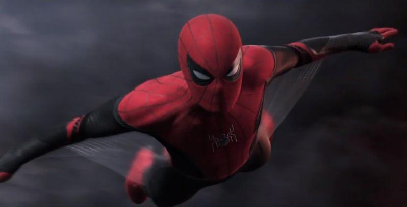 kostum sayap spider-man